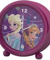 Disney frozen kinder wekker klokje roze 11 5 x 12 cm trend