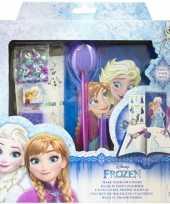 Disney frozen maak je eigen dagboek set voor meisjes trend