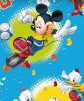 Disney inpakpapier mickey mouse blauw 200 x 70 cm op rol trend