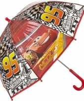 Disney kinderparaplu cars bliksem mc queen rood 45 cm trend