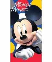 Disney mickey mouse badlaken strandlaken 70 x 140 cm trend