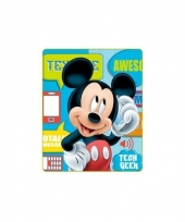 Disney mickey mouse fleece deken trend