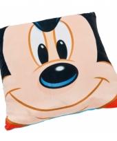 Disney mickey mouse kussen 36 cm trend