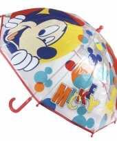 Disney mickey mouse parapluutjes 45 cm trend