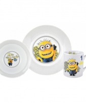 Disney minions tom diner set 3 delig trend