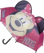 Disney minnie mouse paraplu voor meisjes trend