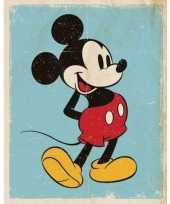 Disney poster mickey mouse oldskool trend