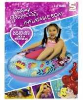 Disney princess ariel opblaasbare boot voor peuters 90 cm trend