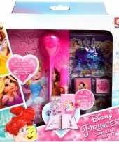 Disney princess maak je eigen dagboek set voor meisjes trend