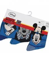 Disney sokken mickey mouse 3 pak trend