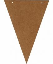 Diy bruine vlaggetjes voor vlaggenlijn slinger trend