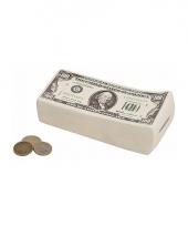 Dollar briefjes spaarpotten 16 cm trend