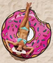 Donut picknickkleed handdoek 150 cm trend