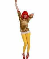 Dorus trui rood geel groen voor dames trend