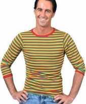 Dorus trui rood geel groen voor heren trend