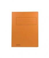 Dossiermap 24 x 35 cm oranje trend