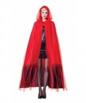 Dracula cape ombre voor volwassenen trend