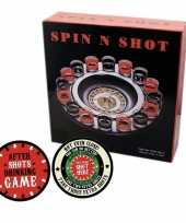 Drankspel drinkspel shot roulette met after shots viltjes trend