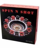 Drankspel shot roulette trend