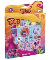 Dreamworks trolls film stickers 40 stuks trend