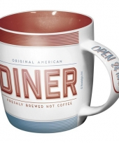 Drinkbeker american diner 33 cl trend
