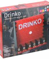 Drinko drankspel met 6 shotglazen 25ml trend