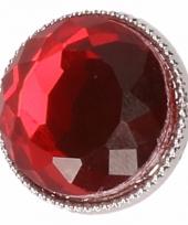 Drukknoop bordeaux rood 1 8 cm trend