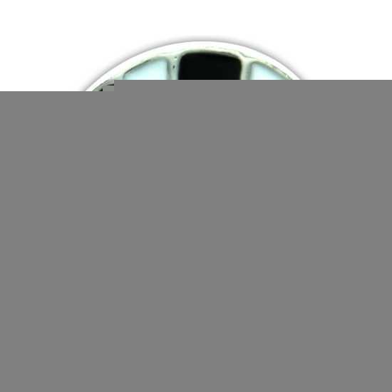 Drukknoop met voetbal 1 8 cm trend