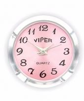 Drukknoop roze klokje voor chunk sieraad 1 8 cm trend
