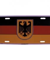 Duitsland decoratie bordje trend