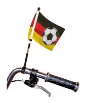 Duitsland fietsvlag voor aan het stuur trend