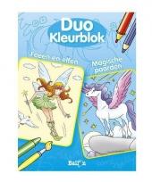 Duo kleurblok fee n elfen trend