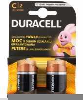 Duracell batterijen cr lr14 2 stuks trend