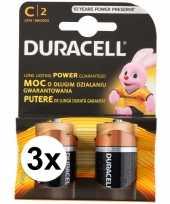 Duracell batterijen cr lr14 6 stuks trend