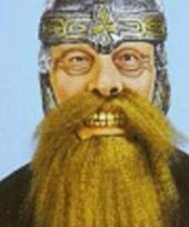 Dwergen krijger masker met baard trend