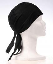 Egaal zwarte bandana trend