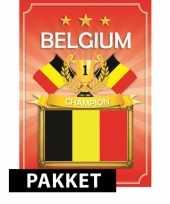 Ek belgie feestartikelen pakket trend
