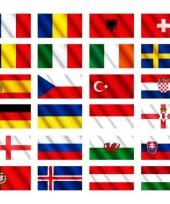 Ek vlaggen pakketten trend