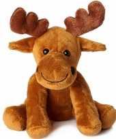 Elanden speelgoed artikelen knuffelbeest bruin 20 cm trend