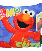 Elmo kussentje 18 cm trend