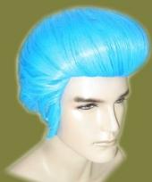 Elvis pruiken in het blauw trend
