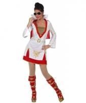 Elvis rockster kostuum voor dames trend