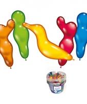 Emmer met 75 figuur ballonnen trend