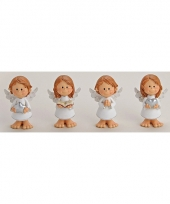Engel met hart decoratie 10 cm trend