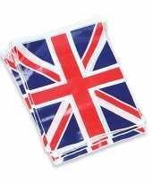 Engelse vlaggen slinger 7 meter trend
