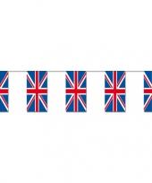 Engelse vlaggenlijn papier trend