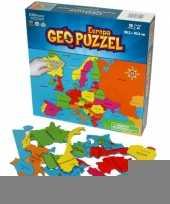 Europa puzzel voor kinderen trend