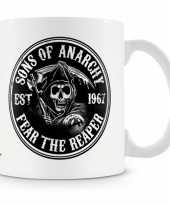 Fan koffiemok sons of anarchy reaper trend