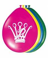 Feest ballonnen prinsessia feestje 8 stuks trend