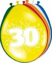 Feest ballonnen van 30 jaar trend